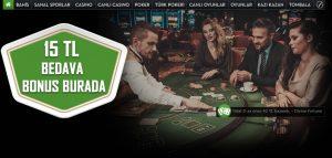 Süperbahis Canlı Casino – VIP Lobiler – Bayan Krupiyerler – Eski Casino