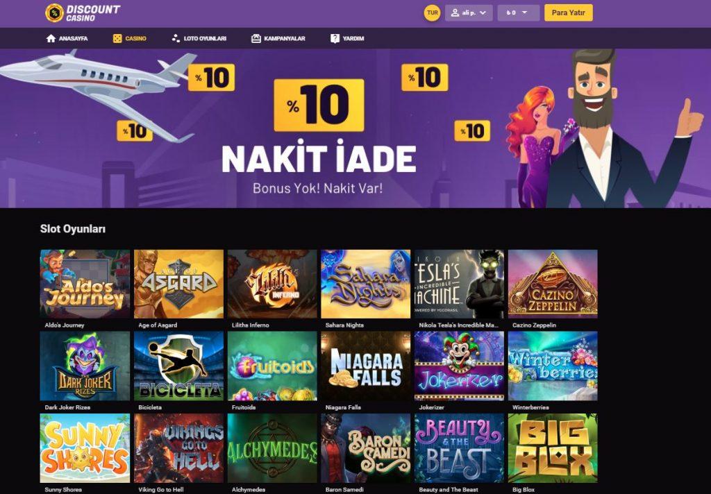 Discount Casino Sitesi Hakkinda Detayli Bilgiler